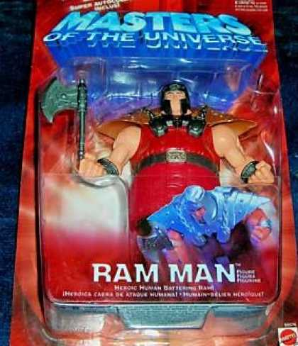 Action Figure Boxes - Masters of the Universe: Ram Man