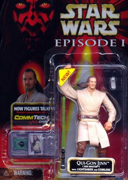 Action Figure Boxes - Star Wars: Qui-Gon Jinn Jedi Master