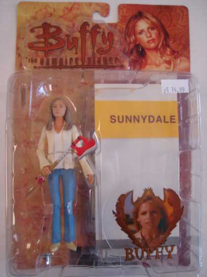 Action Figure Boxes - Buffy the Vampire Slayer: Sunnydale Buffy
