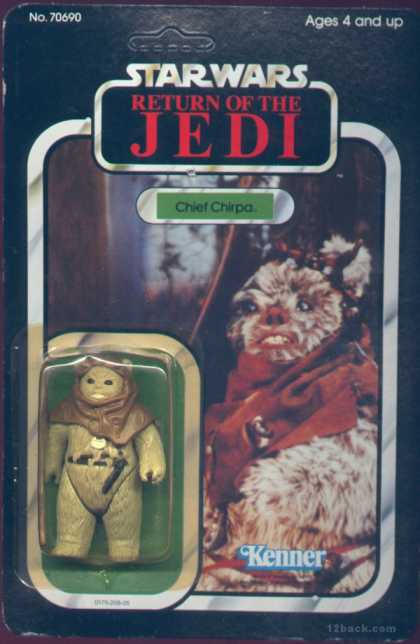 Action Figure Boxes - Star Wars Return of the Jedi: Chief Chirpa