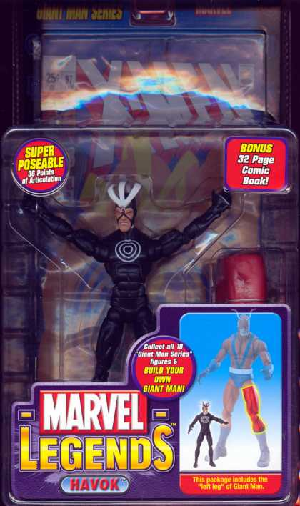 Action Figure Boxes - Havok
