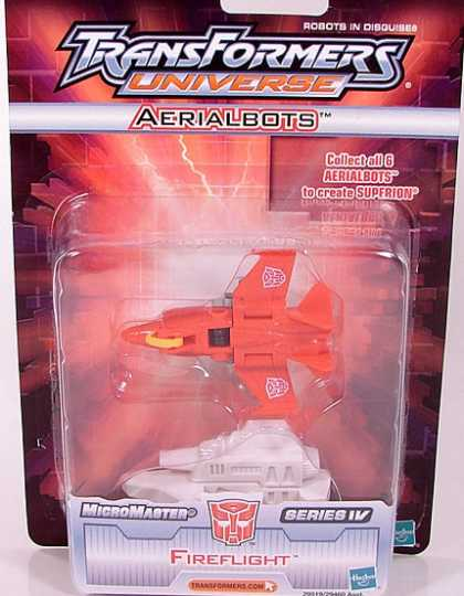 Action Figure Boxes - Transformers: Fireflight