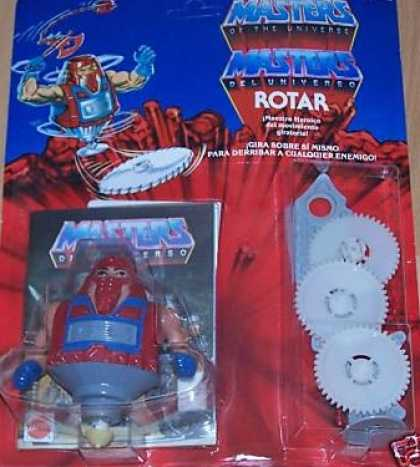 Action Figure Boxes - Masters of the Universe: Rotar