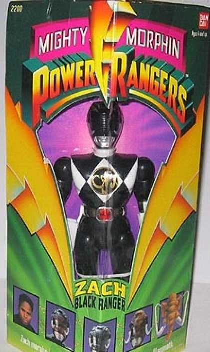 Action Figure Boxes - Power Ranger Zach