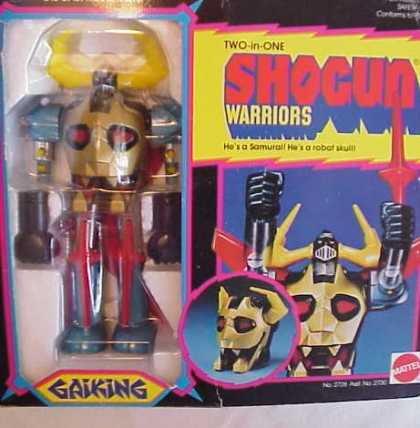 Action Figure Boxes - Shogun Warrior