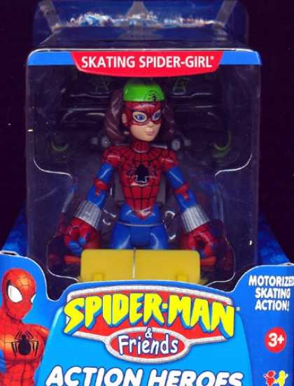 Action Figure Boxes - Spider-Girl