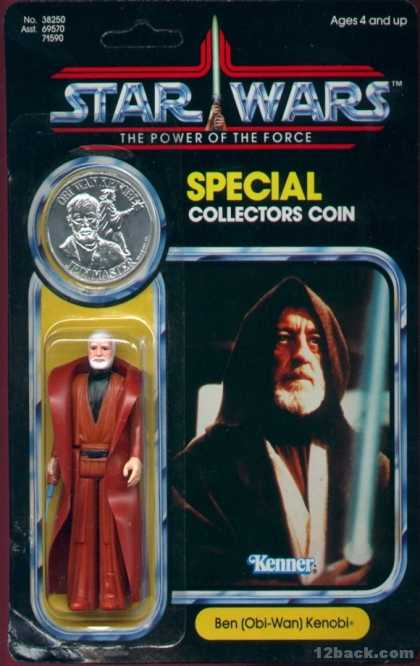 Action Figure Boxes - Star Wars: Obi-Wan Kenobi