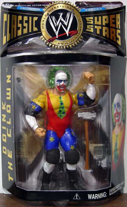 Action Figure Boxes - WWE: Doink the Clown