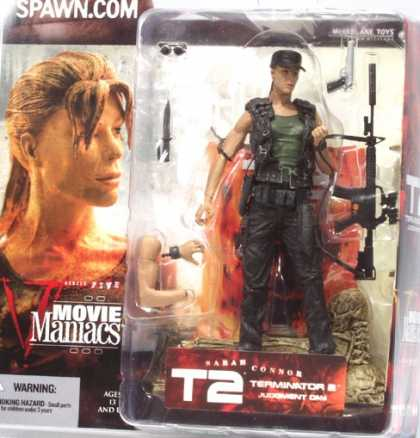 Action Figure Boxes - T2: Sarah Connor