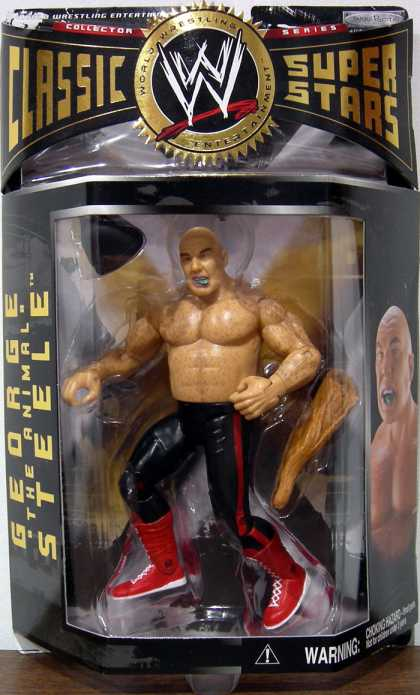 Action Figure Boxes - WW3: George the Animal Steele