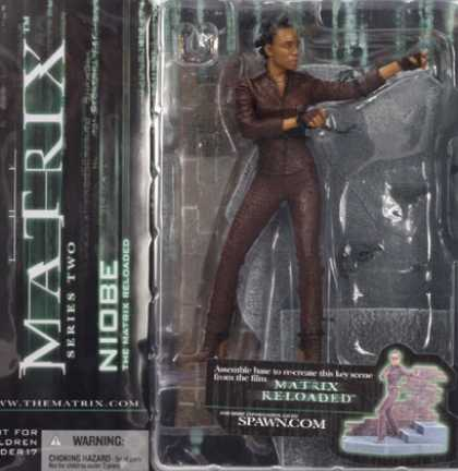 Action Figure Boxes - Matrix: Niobe