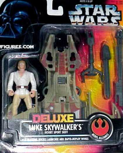 Action Figure Boxes - Star Wars: Luke Skywalker