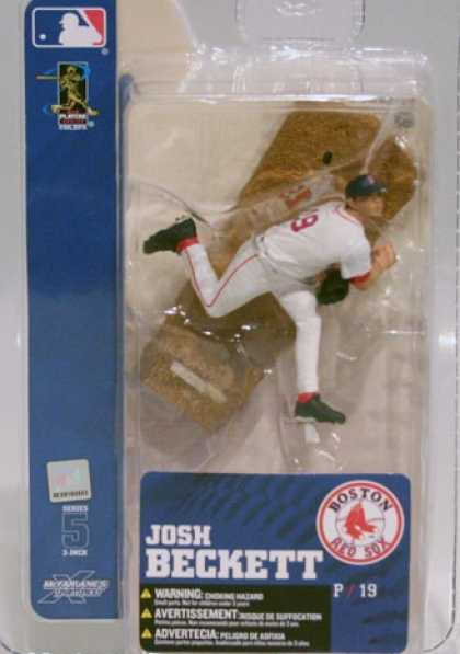 Action Figure Boxes - Baseball: Josh Beckett