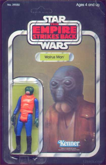 Action Figure Boxes - Star Wars: Walrus Man