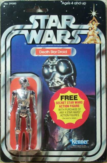 Action Figure Boxes - Star Wars: Death Star Droid