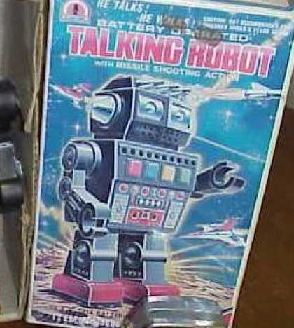 Action Figure Boxes - Talking Robot