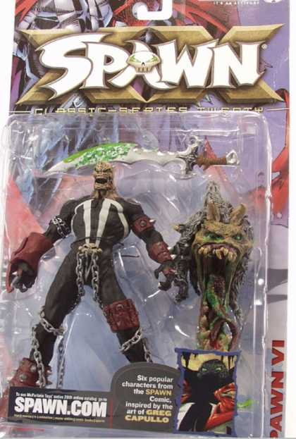 Action Figure Boxes - Spawn VI