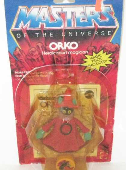 Action Figure Boxes - Masters of the Universe: Orko