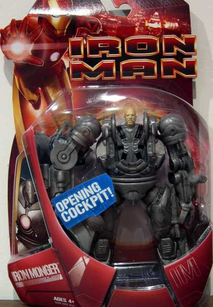 Action Figure Boxes - Iron Man Iron Monger