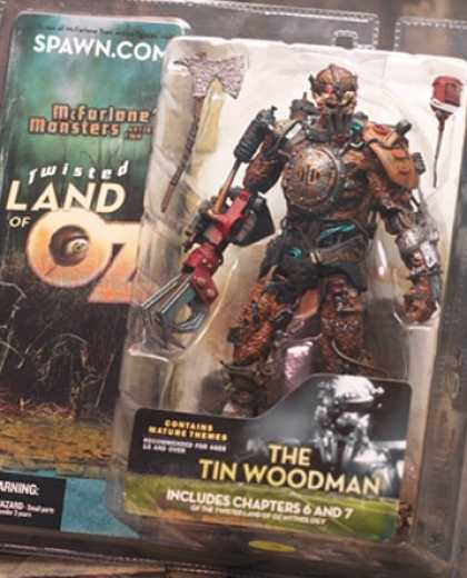 Action Figure Boxes - Twister Land of Oz: The Tin Woodman