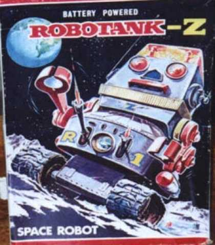 Action Figure Boxes - Robotank-Z