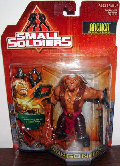Action Figure Boxes - Small Soldiers: Archer