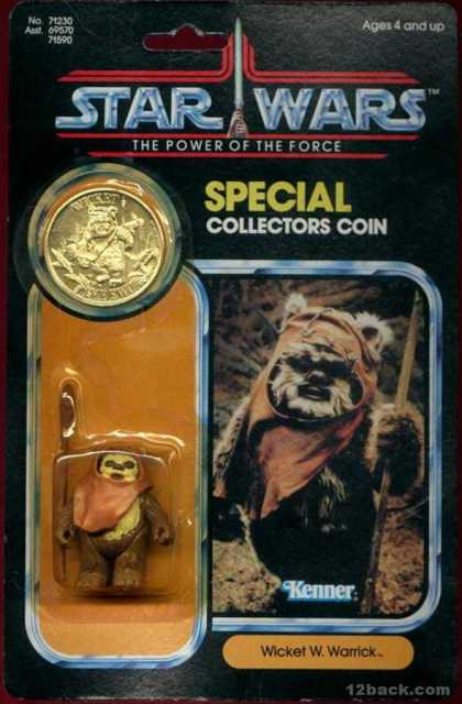 Action Figure Boxes - Star Wars: Wicket W. Warrick