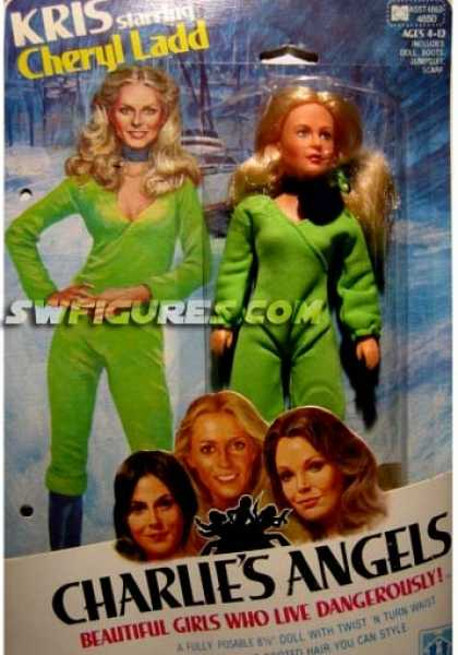 Action Figure Boxes - Charlie's Angels: Kris