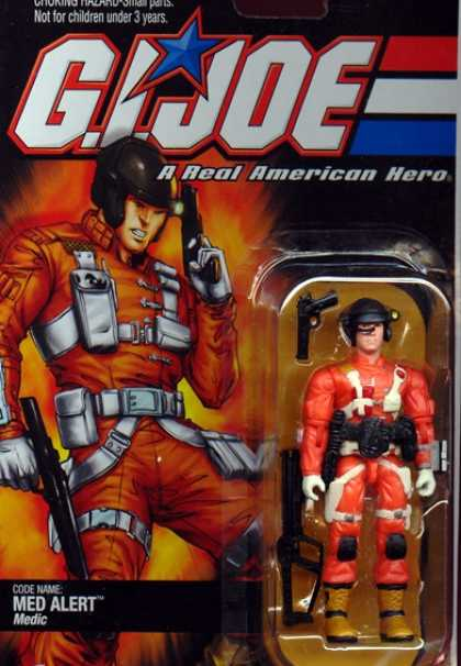 Action Figure Boxes - G.I. Joe: Med Alert
