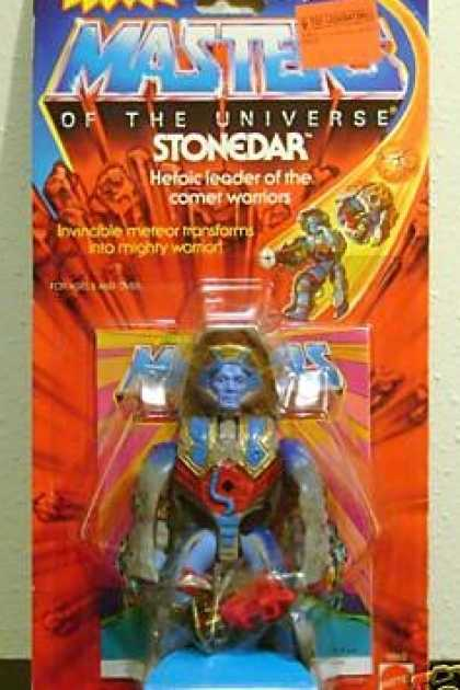 Action Figure Boxes - Masters of the Universe: Stonedar