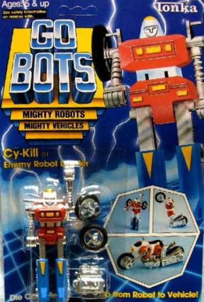 Action Figure Boxes - Gobots Cy-Kill