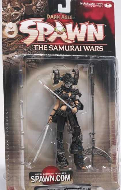 Action Figure Boxes - Spawn Samurai Wars