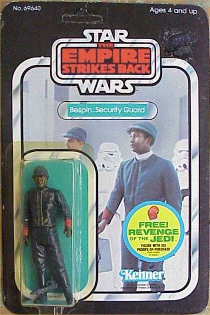 Action Figure Boxes - Star Wars: Bespin Security Guard