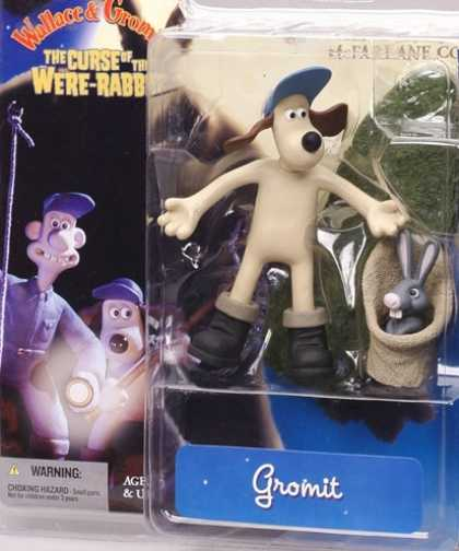 Action Figure Boxes - Wallace and Gromit