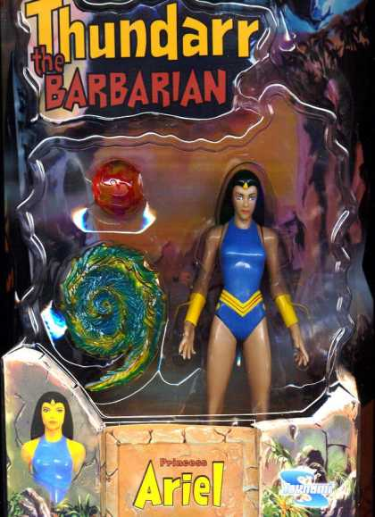 Action Figure Boxes - Thunder the Barbarian: Princess Ariel