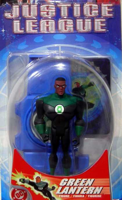 Action Figure Boxes - Justice League: Green Lantern