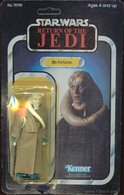 Action Figure Boxes - Star Wars - Bib Fortuna