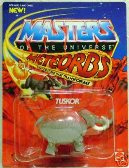 Action Figure Boxes - Masters of the Universe: Tuskor