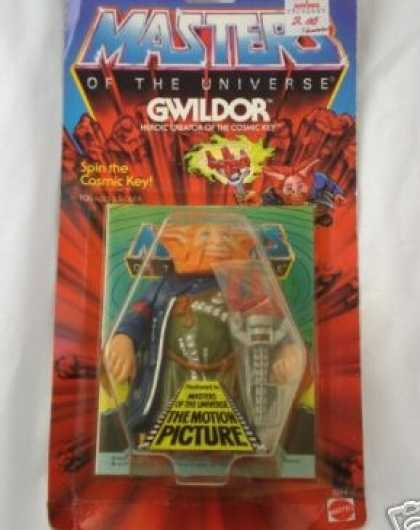 Action Figure Boxes - Masters of the Universe: Gwildor