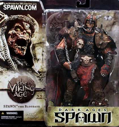 Action Figure Boxes - Spawn the Bloodaxe