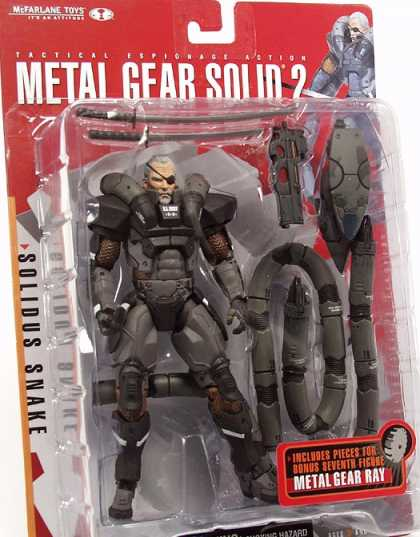 Action Figure Boxes - Metal Gear Solid 2: Solidus Snake