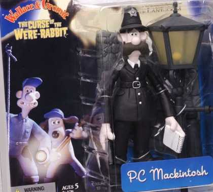 Action Figure Boxes - Wallace and Gromit: PC Mackintosh