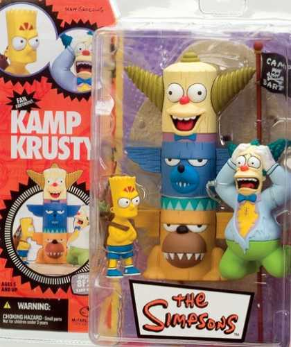 Action Figure Boxes - Simpsons: Kamp Krusty