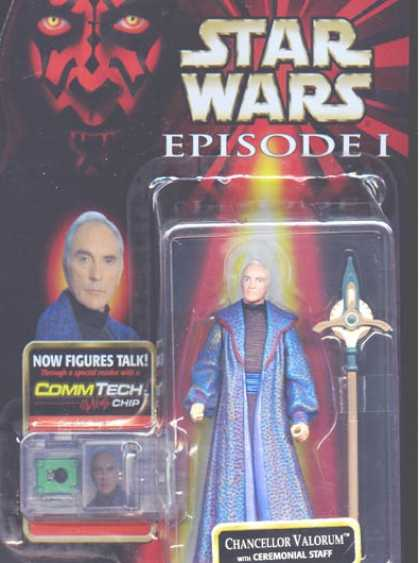 Action Figure Boxes - Star Wars: Chancellor Valorium with Ceremonial Staff