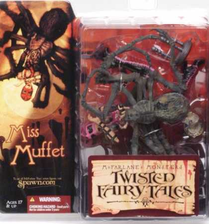 Action Figure Boxes - Twisted Fairy Tales: Miss Muffet