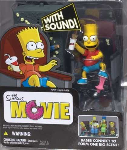 Action Figure Boxes - Bart Simpsons