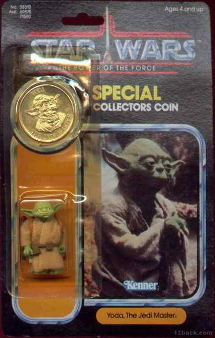 Action Figure Boxes - Star Wars: Yoda Jedi Master