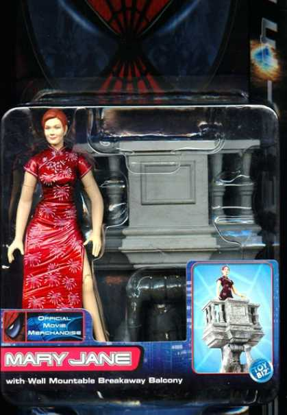 Action Figure Boxes - Spider-Man: Mary Jane