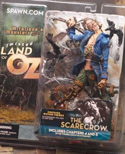 Action Figure Boxes - Twisted Land of Oz: The Scarecrow