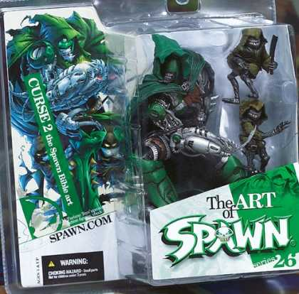 Action Figure Boxes - Art of Spawn: Curse